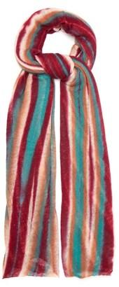 Missoni Striped Cashmere Scarf - Pink Multi