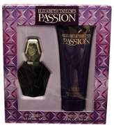 Elizabeth Taylor Passion Gift Set - 1.5 Oz Eau De Toilette Spray + 6.8 Oz Body Lotion For Women