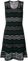 M Missoni wave knit sleeveless dress