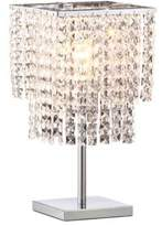 ZUO Falling Stars Crystal & Chrome Table Lamp