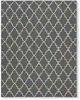 Moroccan Gate Indoor/Outdoor Rug, Gray