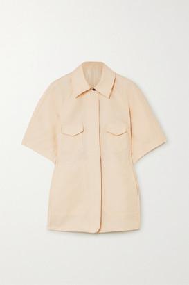 LVIR Wool And Silk-blend Shirt - Cream