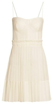 Alexis Jasmine Pleated Mini Dress