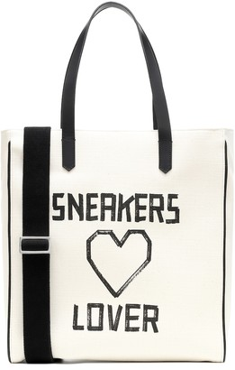 Golden Goose California printed canvas tote