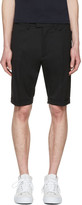 DSQUARED2 Black Glam Head Chic Shorts