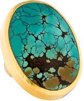 Gurhan 24K Turquoise Ring