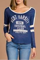 Tea n Rose Varsity Sweatshirt