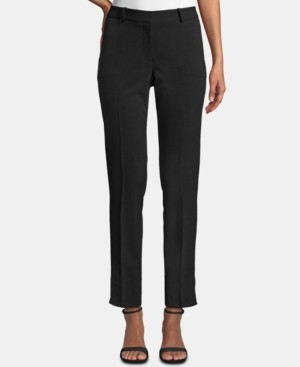 Tahari ASL Petite Shannon Slim Straight-Leg Dress Pants