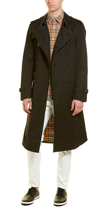 Burberry Long Chelsea Trench Coat