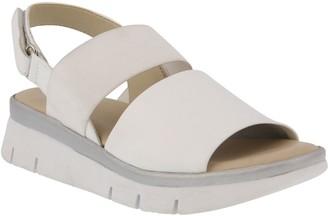 Spring Step Leather Slingback Sandals - Wetra