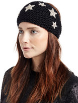 Jennifer Behr Headpieces Galaxy Star Alpaca Kerchief, Black