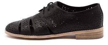 Django & Juliette New Abra Black Womens Shoes Casual Shoes Flat