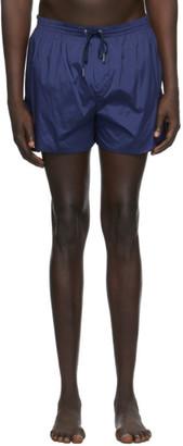 DSQUARED2 Navy Back Logo Swim Shorts