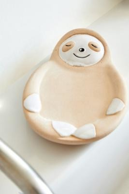 Urban Outfitters Sloth Soap Dish - Beige ALL at