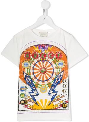 Gucci Kids logo graphic T-shirt
