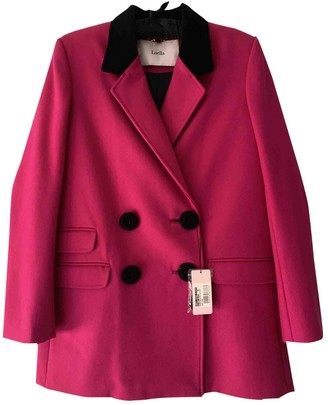 Luella Pink Wool Coat for Women