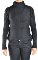 Iceberg Women's Black Wool Cardigan.