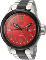 Invicta Men's 'Russian Diver' Swiss Quartz Stainless Steel Casual Watch, Color: Two Tone (Model: 22844)