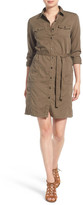 Caslon Utility Shirtdress