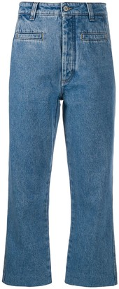 Loewe cropped straight jeans