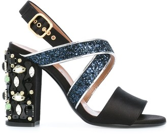 Marni Embellished Heel Sandals