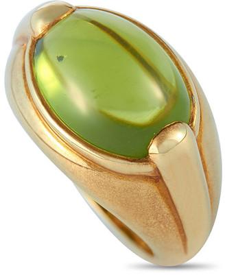 Heritage Bvlgari Bulgari 18K Peridot Ring