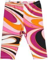 Emilio Pucci Printed Cotton Jersey Leggings