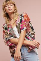 Anthropologie Cropped Patchwork Kimono