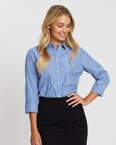 Dorothy Perkins Pinstripe Cotton-Blend Shirt