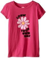 Life is Good Grow Your Flower CrusherTM Tee (Little Kids/Big Kids)