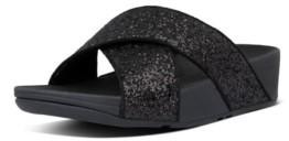 FitFlop Women's Lulu Glitter Slides Sandal Women's Shoes