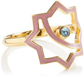 LeiVanKash Gold Enamel Kasha Ring