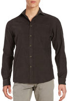 Black Brown 1826 Corduroy Sportshirt