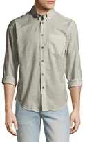 Naked & Famous Denim Heather Air Twill Regular Sportshirt