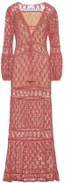 Anna Kosturova Bianca crochet cotton dress