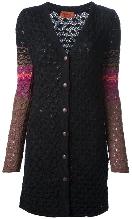 Missoni cable knit cardigan