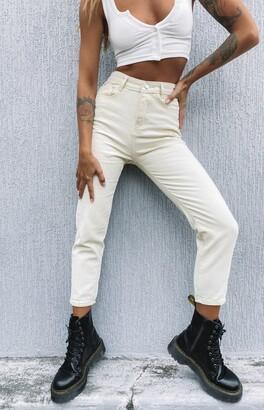 Beginning Boutique Blank Space Denim Jeans Beige