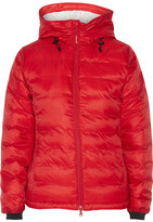 Canada Goose Camp Hooded Quilted Shell Down Jacket - Crimson