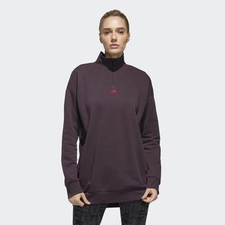 adidas Essentials Comfort Elongated 1/4 Zip Sweatshirt