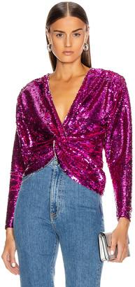 Dundas Long Sleeve Top in Pink   FWRD