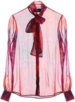 DSQUARED2 Tie-dye Silk Shirt