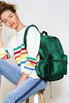 Nasty Gal nastygal WANT How Touching Velvet Backpack