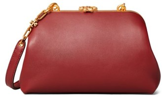 Tory Burch Small Cleo Leather Shoulder Bag