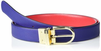 Emporio Armani Women's Leather Belt with Contrasting Interior