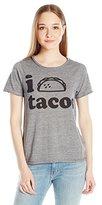 "Chaser Women's ""I Love Tacos"" T-Shirt"