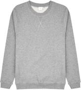 Sunspel Grey Mélange Jersey Sweatshirt