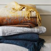 west elm Abstract Texture Woven Throw
