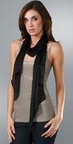 Karen Zambos Vintage Couture Jacquard Scarf
