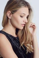 BCBGeneration Chain Fringe Chandelier Earrings - Silver