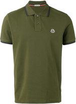 Moncler logo front polo shirt - men - Cotton - XXL